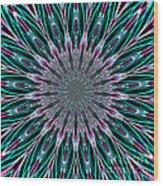 Fractalscope 23 Wood Print