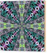 Fractalscope 24 Wood Print