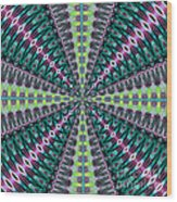 Fractalscope 25 Wood Print
