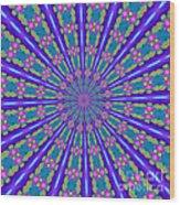 Fractalscope 26 Wood Print