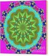 Fractalscope 28 Wood Print