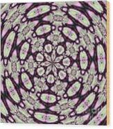 Fractalscope 30 Wood Print