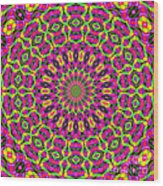 Fractalscope 7 Wood Print