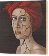 Fractured Identity Edit 1 Wood Print