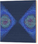 Fragmented Vision Wood Print