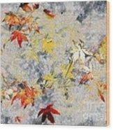 Fragments Of Fall Wood Print
