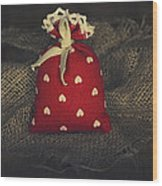 Fragrance Pouch Wood Print