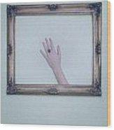Framed Hand Wood Print