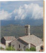 France, Corsica, La Alta Rocca, Quenza Wood Print