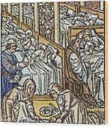 France: Hospital, C1500 Wood Print