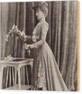 France Woman, C1895 Wood Print