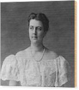 Frances Folsom Cleveland (1864-1947) Wood Print