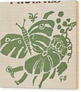 Francis Ponge: Proemes Wood Print