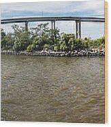 Francis Scott Key Bridge - Pano Wood Print