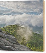 Franconia Notch State Park - New Hampshire White Mountains  Wood Print