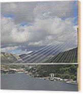Franjo Tudman Bridge Wood Print