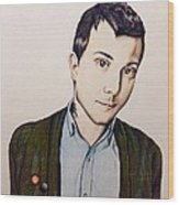 Frank Iero Wood Print