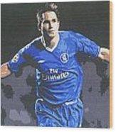 Frank Lampard - Chelsea Fc Wood Print