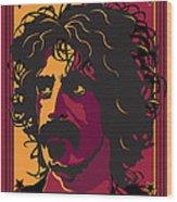 Frank Zappa Wood Print