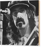 Frank Zappa - Watercolor Wood Print
