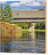 Frankenmuth Covered Bridge Wood Print