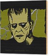 Frankenstein 31' Wood Print