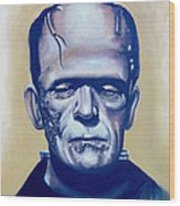 Frankenstein  Wood Print