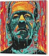 Frankenstein Wood Print