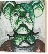 Frankenstein's Koala Wood Print