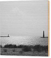 Frankfort Michigan Harbor Wood Print