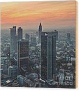 Frankfurt 06 Wood Print