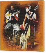 Frankie And Johnny   Wood Print