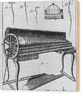 Franklin: Armonica, 1761 Wood Print