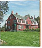 Franklin D. Roosevelts Beloved Island Campobello Wood Print