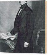 Franklin Pierce Wood Print by George Healy