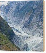 Franz Josef Glacier Wood Print