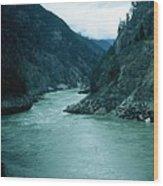 Fraser River Wood Print