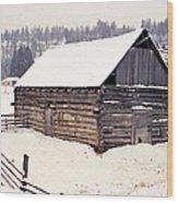 Fraser Valley Barn Wood Print