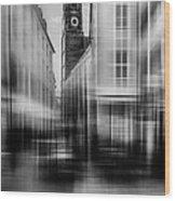 Frauenkirche - Muenchen V - Bw Wood Print