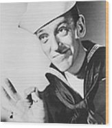Fred Astaire In Follow The Fleet  Wood Print by Silver Screen