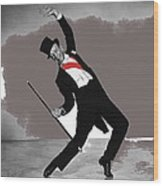 Fred Astaire Silk Stockings Publicity Photo 1957-2014 Wood Print