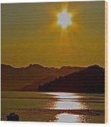 Fredericton Sunset Wood Print