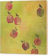 Free Apples Wood Print