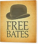 Free Bates Wood Print