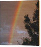 Free Rainbow 2 Wood Print