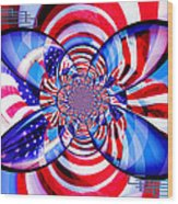 Freedom Abstract  Wood Print