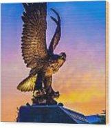 Freedom Bird Wood Print