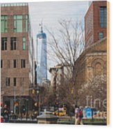 Freedom Tower From Washington Square Wood Print