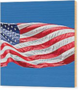 Freedom American Flag Art Prints Wood Print