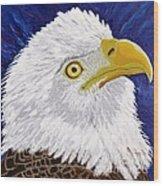 Freedom's Hope Wood Print by Vicki Maheu